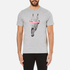PS by Paul Smith Men's Crew Neck Short Sleeve Regular Fit T-Shirt - Grey: Image 1