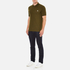 PS by Paul Smith Men's Regular Fit Zebra Polo Shirt - Khaki: Image 4