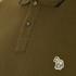 PS by Paul Smith Men's Regular Fit Zebra Polo Shirt - Khaki: Image 5