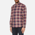 PS by Paul Smith Men's Checked Long Sleeve Shirt - Red: Image 2