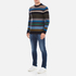 PS by Paul Smith Men's Crew Neck Striped Jumper - Multi: Image 4