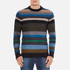 PS by Paul Smith Men's Crew Neck Striped Jumper - Multi: Image 1