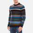 PS by Paul Smith Men's Crew Neck Striped Jumper - Multi: Image 2