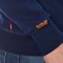Superdry Men's Classics True Indigo Crew Sweatshirt - Classic Indigo: Image 6