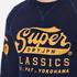 Superdry Men's Classics True Indigo Crew Sweatshirt - Classic Indigo: Image 5