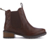 Barbour Women's Latimer Leather Chelsea Boots - Chestnut: Image 1