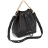 Karl Lagerfeld Women's K/Klassik Drawstring Bag - Black: Image 3