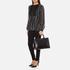 Karl Lagerfeld Women's K/Klassik Croco Tote Bag - Black: Image 7