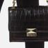 Karl Lagerfeld Women's K/Reptile Mini Handbag - Black: Image 3