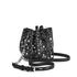 Karl Lagerfeld Women's K/Rocky Studs Drawstring Bag - Black: Image 3
