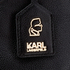 Karl Lagerfeld Women's K/Grainy Backpack - Black: Image 7