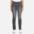 Levi's Women's 712 Slim Straight Fit Jeans - Burnt Ash: Image 1