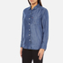Levi's Women's Sidney 1 Pocket Boyfriend Shirt - Ocean Blue: Image 2