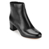 MICHAEL MICHAEL KORS Women's Sabrina Leather Mid Heeled Boots - Black: Image 2