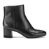 MICHAEL MICHAEL KORS Women's Sabrina Leather Mid Heeled Boots - Black: Image 1