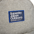 Superdry Men's Trinity Montana Rucksack - Light Grey Marl: Image 4