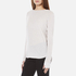 Helmut Lang Women's Long Sleeve Thumb Hole T-Shirt - White Melange: Image 2
