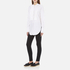 Helmut Lang Women's Raw Tuxedo Shirt - White/Multi: Image 4