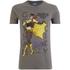 DC Bombshells Men's Batgirl T-Shirt - Grey: Image 1