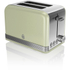 Swan ST19010GN 2 Slice Toaster - Green: Image 1
