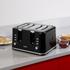 Tower T20010 4 Slice Toaster - Black: Image 6