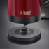 Russell Hobbs 20612 Canterbury Kettle - Red: Image 5