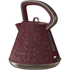Morphy Richards 108103 Prism Textured Kettle - Merlot: Image 1