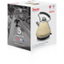 Swan SK34010CREN 1.7L Pyramid Kettle - Cream: Image 2
