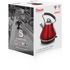Swan SK34010REDN 1.7L Pyramid Kettle - Red: Image 2