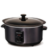 Morphy Richards Black Sear and Stew Slow Cooker 3.5L - Stainless Steel: Image 1