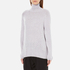 Paisie Women's Turtle Neck Jumper with Bell Sleeves - Lilac: Image 2