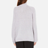 Paisie Women's Turtle Neck Jumper with Bell Sleeves - Lilac: Image 3