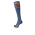 Santini California Eroica High Profile Wool Socks - Blue: Image 2