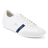 Lacoste Men's Mokara 316 1 Leather Trainers - Off White: Image 2