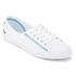 Lacoste Women's Ziane 116 1 SPW Canvas Plimsolls - White: Image 2