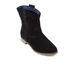 TOMS Women's Laurel Suede Pull On Slouch Boots - Black: Image 2
