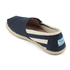 TOMS Women's University Classics Slip-On Pumps - Navy Stripe: Image 4