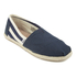 TOMS Women's University Classics Slip-On Pumps - Navy Stripe: Image 2