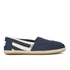 TOMS Women's University Classics Slip-On Pumps - Navy Stripe: Image 1