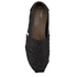 TOMS Women's Seasonal Classics Slip-On Pumps - Black Crochet Glitter: Image 3