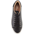 TOMS Men's Lenox Leather Cupsole Trainers - Black: Image 3