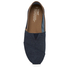 TOMS Men's Seasonal Classic Slip-On Pumps - Dark Denim with Trim: Image 3