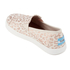 TOMS Kids' Avalon Slip-On Trainers - Natural Cheetah Foil: Image 4