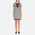 Boutique Moschino Women's Tweed Embellished Dress - Black: Image 1