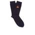 Folk Men's Rib Socks - Navy: Image 1