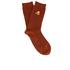 Folk Men's Rib Socks - Rust: Image 1