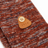 Folk Men's Flecked Single Socks - Rust Melange: Image 2
