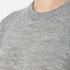 Love Moschino Women's Logo Imprint Jumper Dress - Medium Grey: Image 5