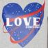 Love Moschino Women's Love Heart T-Shirt - Medium Grey: Image 5