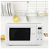 Daewoo KOR1NOA Family Touch Control Microwave - White: Image 5